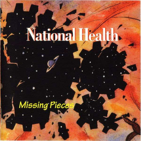 National Health - Missing Pieces  CD (album) cover