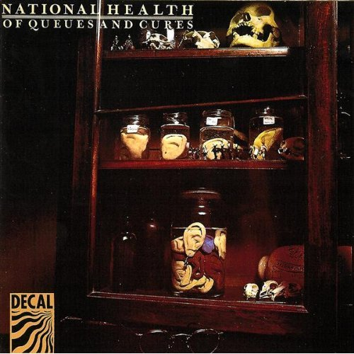 National Health - Of Queues and Cures  CD (album) cover