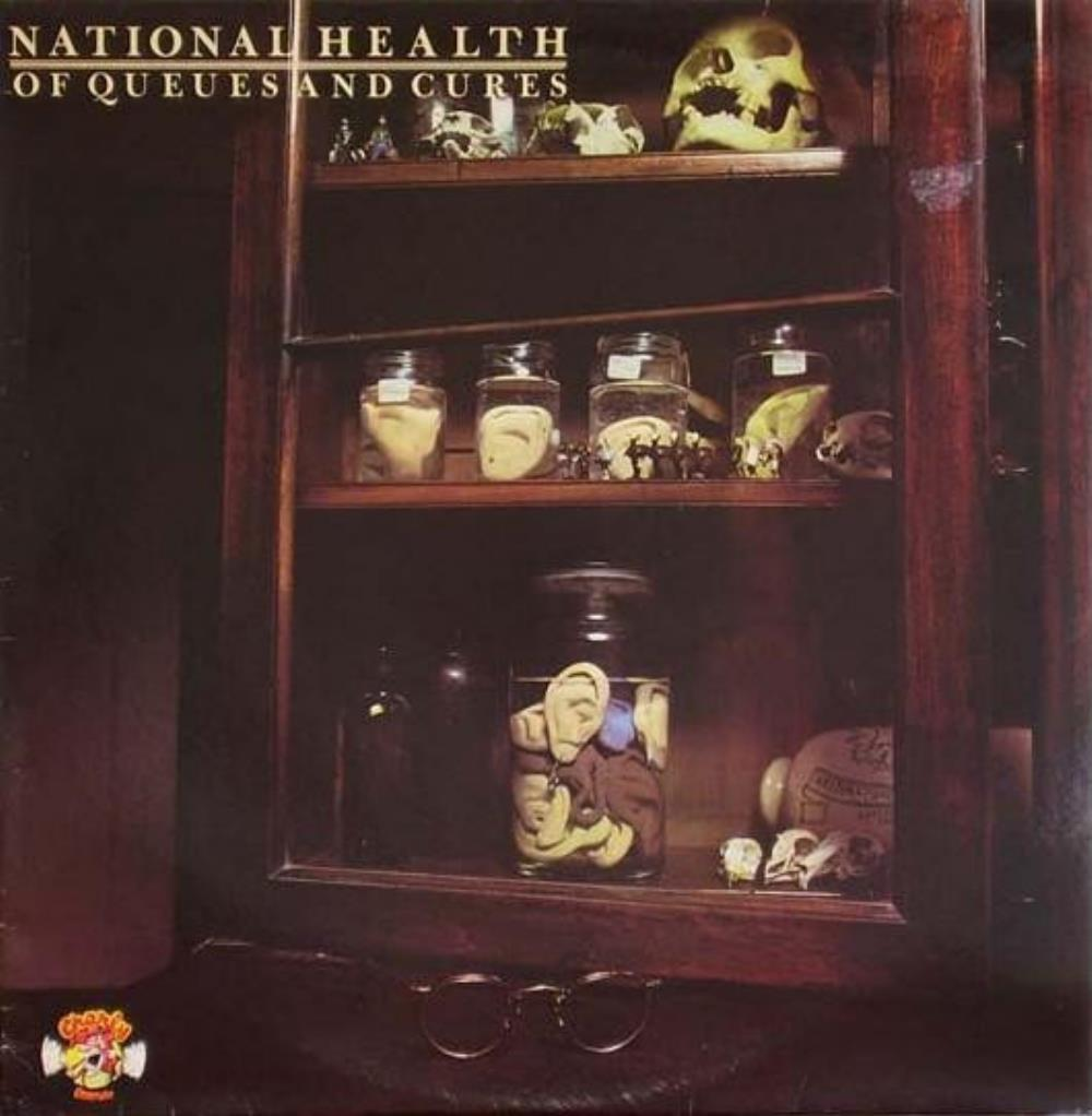 Of Queues And Cures by NATIONAL HEALTH album cover