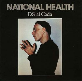 National Health - D.S. al Coda  CD (album) cover