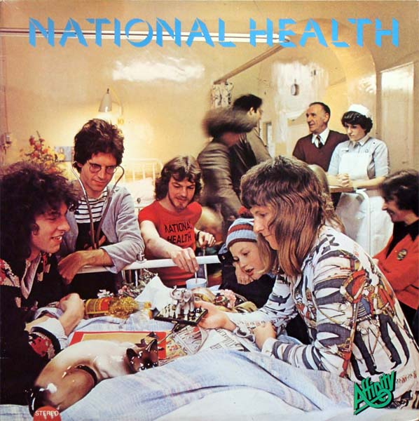 National Health - National Health  CD (album) cover