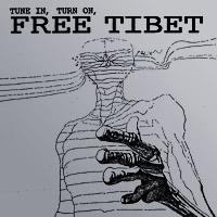 Ghost Tune In, Turn On, Free Tibet album cover