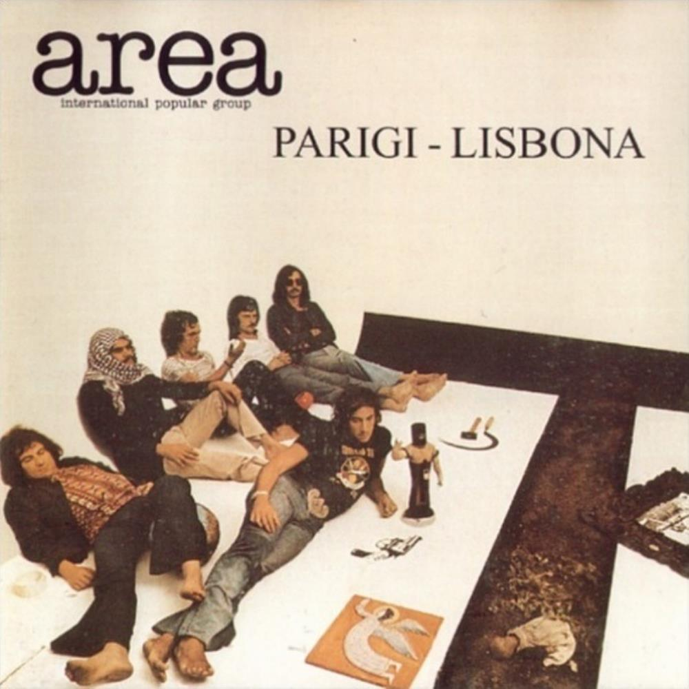 Area - Parigi-Lisbona CD (album) cover