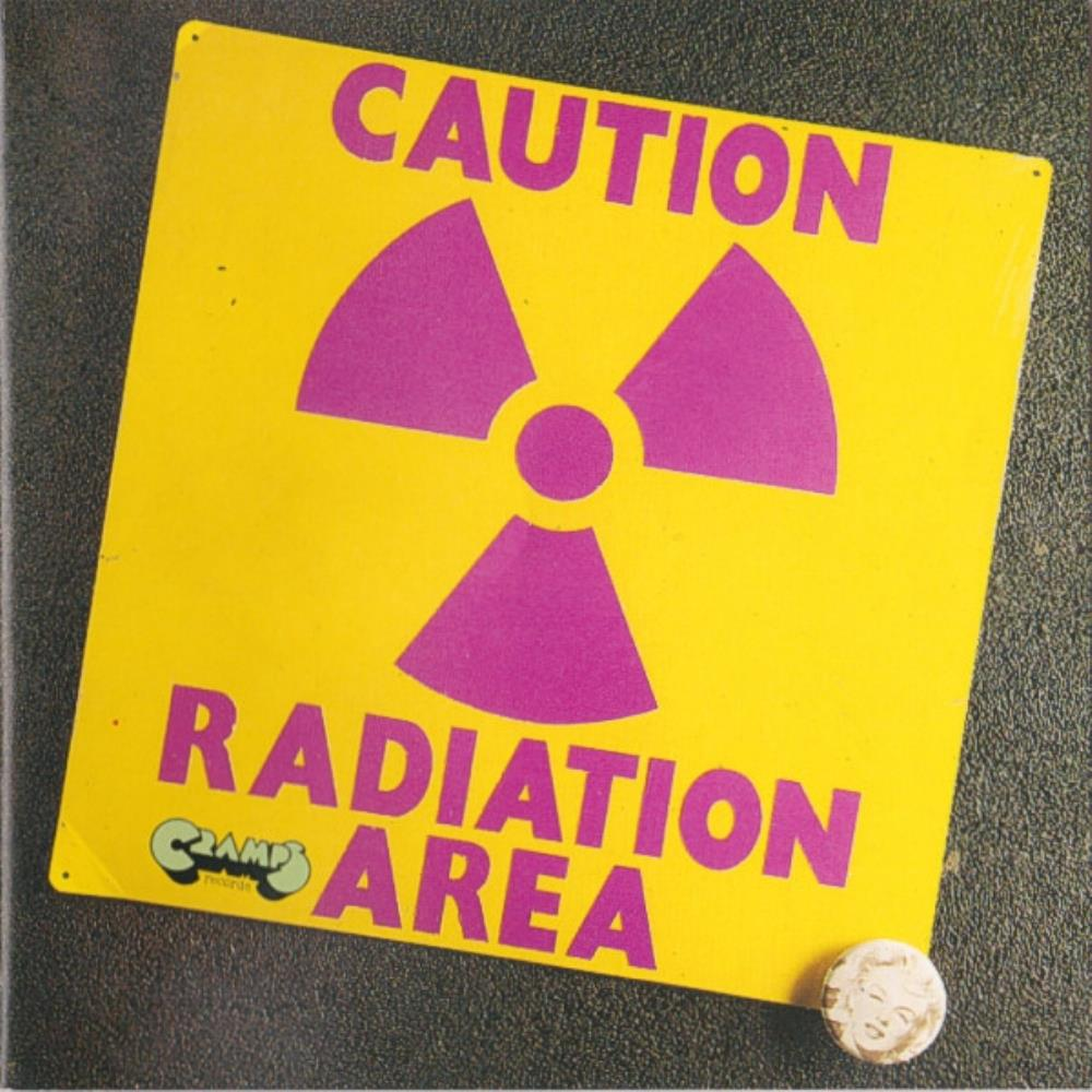 Caution Radiation Area by AREA album cover