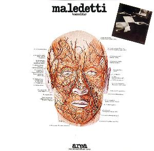 Area - Maledetti CD (album) cover