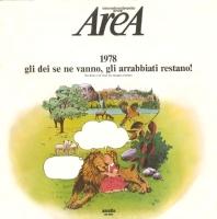 Area 1978 Gli Dei Se Ne Vanno, Gli Arrabbiati Restano album cover