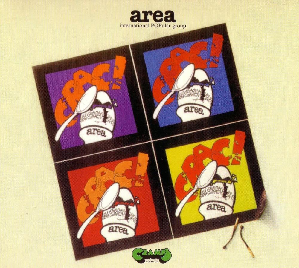 Area - Crac ! CD (album) cover