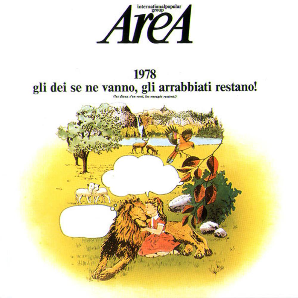 1978 - Gli Dei Se Ne Vanno, Gli Arrabbiati Restano! by AREA album cover