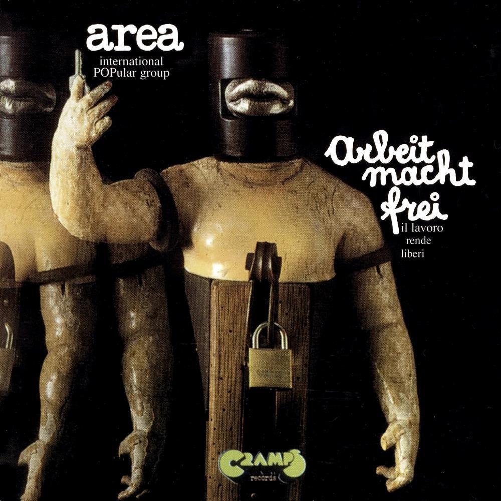 Arbeit Macht Frei by AREA album cover