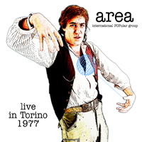 Area Live In Torino 1977 album cover