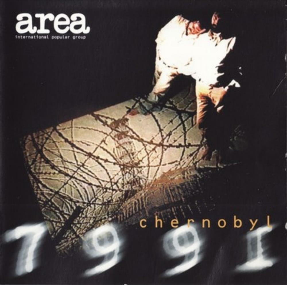 Area - Chernobyl 7991 CD (album) cover