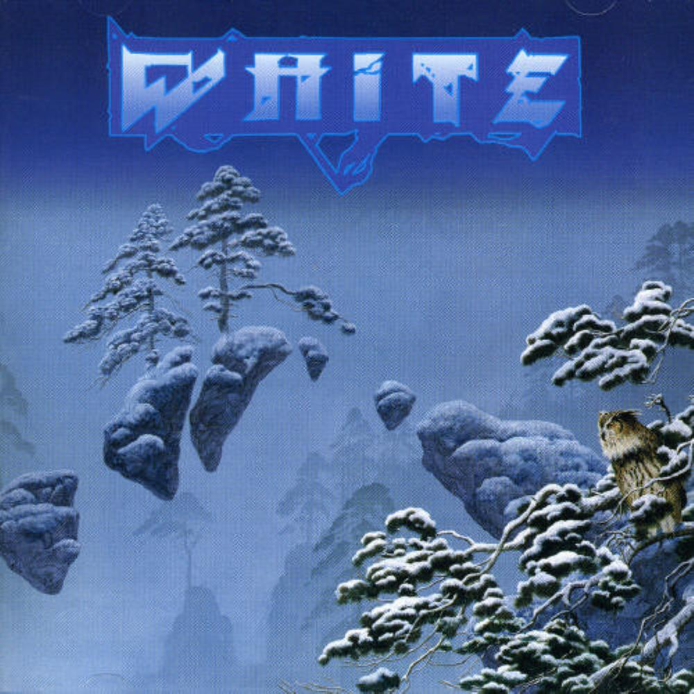 Alan White WHITE: White album cover