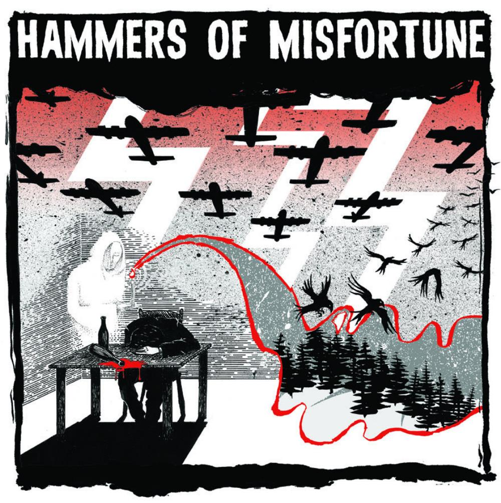 The August Engine by HAMMERS OF MISFORTUNE album cover