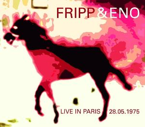 Fripp & Eno Live In Paris 28.05.1975 album cover
