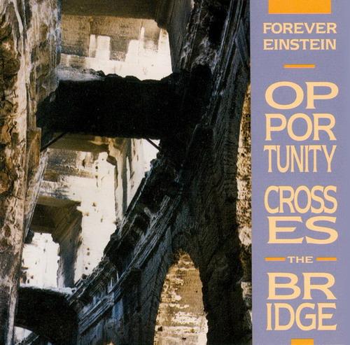 Opportunity Crosses The Bridge by FOREVER EINSTEIN album cover