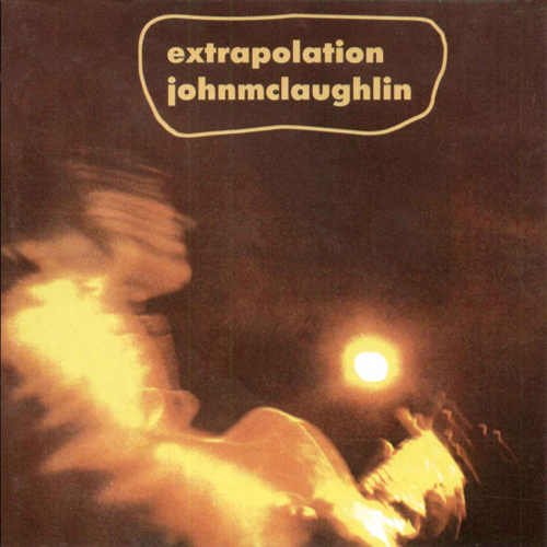 John McLaughlin - Extrapolation CD (album) cover