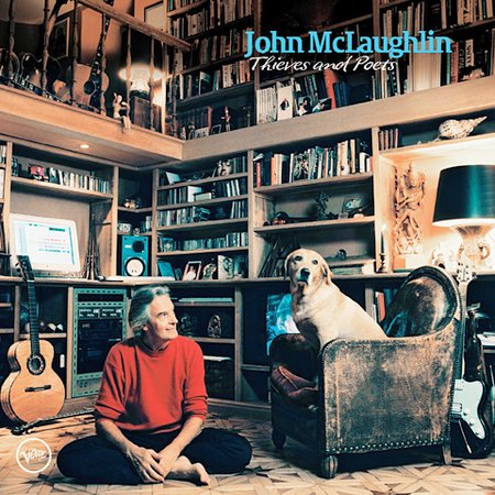 John McLaughlin Thieves And Poets album cover