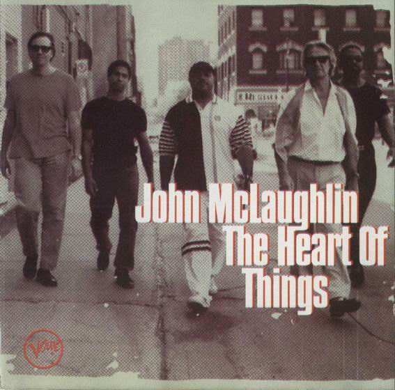 The Heart Of Things by MCLAUGHLIN, JOHN album cover