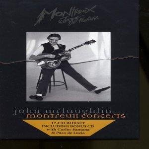 John McLaughlin - Montreux Concerts CD (album) cover