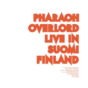 Pharaoh Overlord Live in Suomi Finland album cover