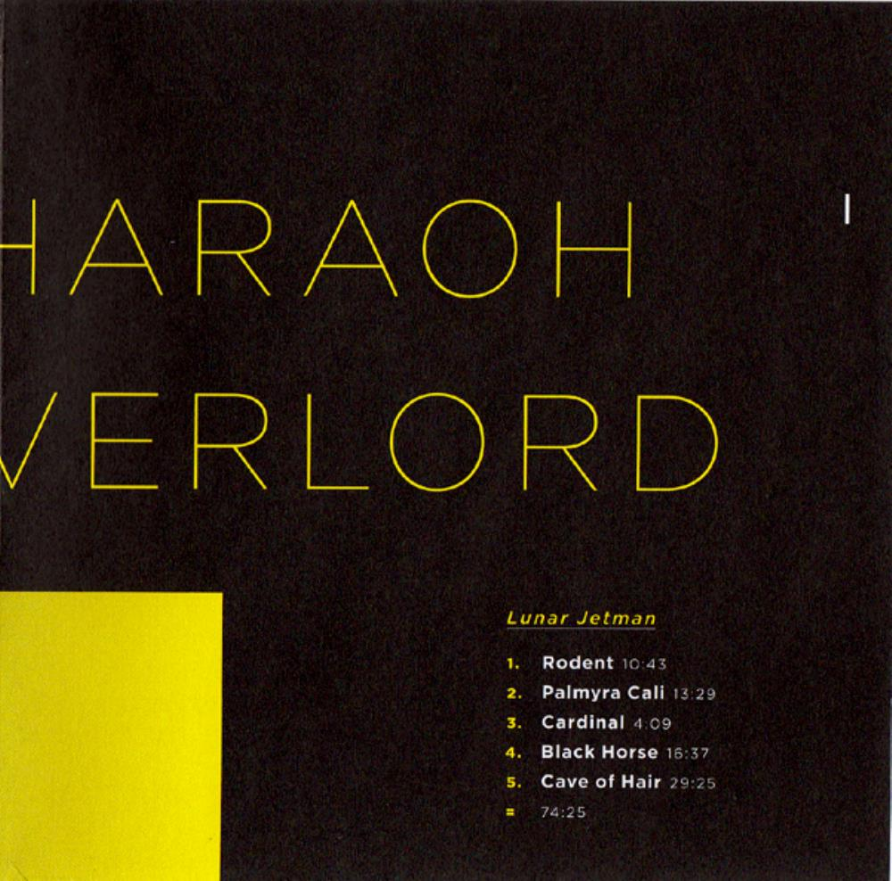 Lunar Jetman by PHARAOH OVERLORD album cover