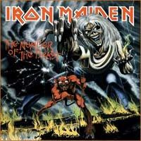 Iron MaidenThe Number Of The Beast album cover