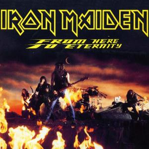 Iron Maiden From Here to Eternity album cover