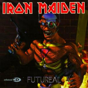 Iron Maiden Futureal album cover
