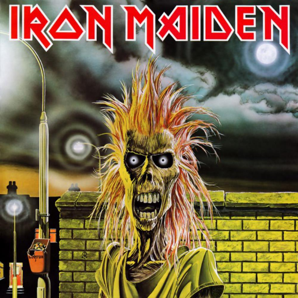 Iron Maiden - Iron Maiden CD (album) cover