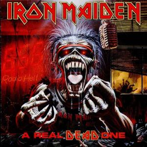 Iron Maiden - A Real Dead One CD (album) cover