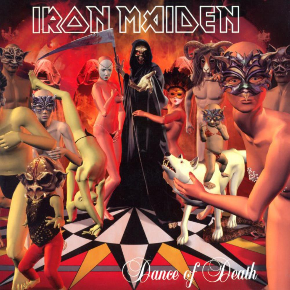Iron Maiden - Dance of Death CD (album) cover