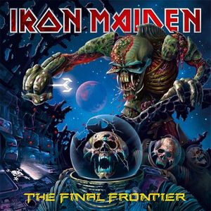 The Final Frontier by IRON MAIDEN album cover