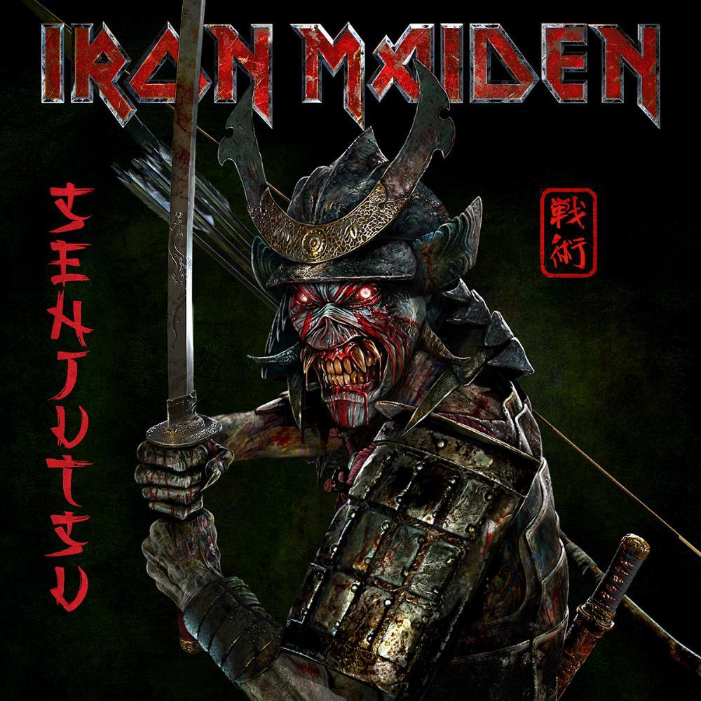 Senjutsu by IRON MAIDEN album cover