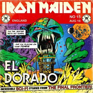 Iron Maiden - El Dorado CD (album) cover