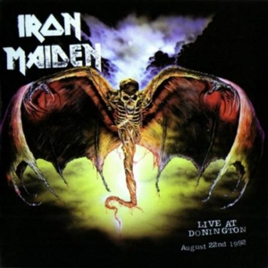 Iron Maiden Live at Donington  album cover