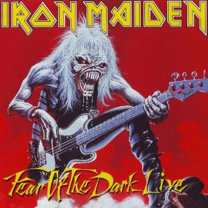 Iron Maiden Fear of the Dark album cover