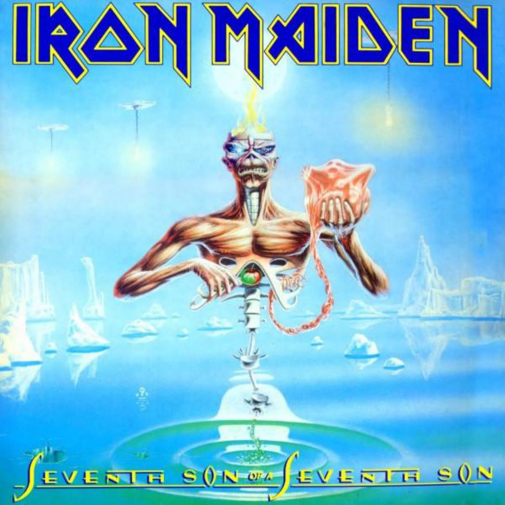 Iron Maiden - Seventh Son Of A Seventh Son CD (album) cover