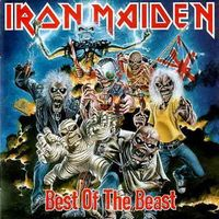 Iron Maiden - Best of the Beast CD (album) cover