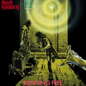 Iron Maiden Running Free album cover