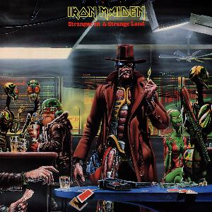 Iron Maiden Stranger in a Strange Land  album cover
