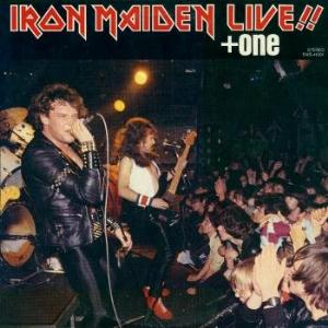 Iron Maiden Live!! +one album cover