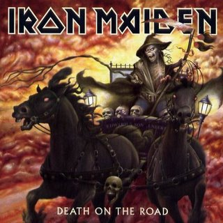 Iron Maiden - Death On The Road CD (album) cover