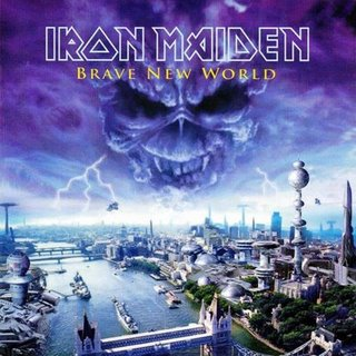Brave New World by IRON MAIDEN album cover