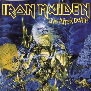 Iron Maiden Live After Death album cover