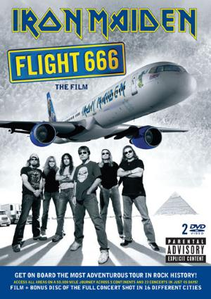 Iron Maiden - Flight 666: The Film CD (album) cover