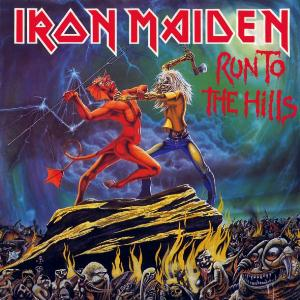 Iron Maiden - Run to the Hills CD (album) cover