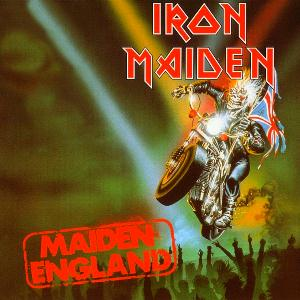 Iron Maiden Maiden England album cover