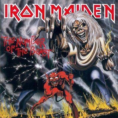 Iron Maiden - The Number Of The Beast CD (album) cover