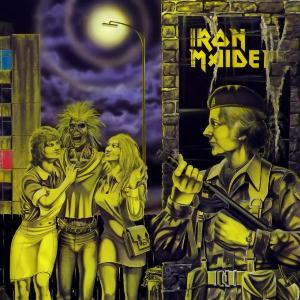 Iron Maiden Women in Uniform album cover