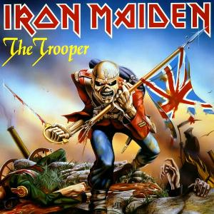 Iron Maiden The Trooper album cover